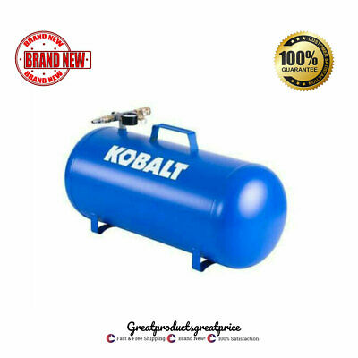 Kobalt Multi-Purpose Air Tank Expands Compressor Capacity 165 PSI Portable Hose