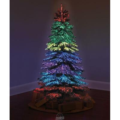 The 6 ft.Thousand Points Of Light Indoor/Outdoor Christmas Tree 23 Light Modes Christmas Tree Outdoor Light