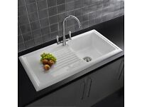 Brand New Reginox single ceramic kitchen sink £85.00