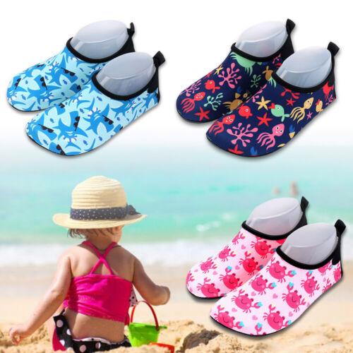 Kinder Badeschuhe Wasserschuhe Aquaschuhe Tauchsocken Strandsocken Rutschfest
