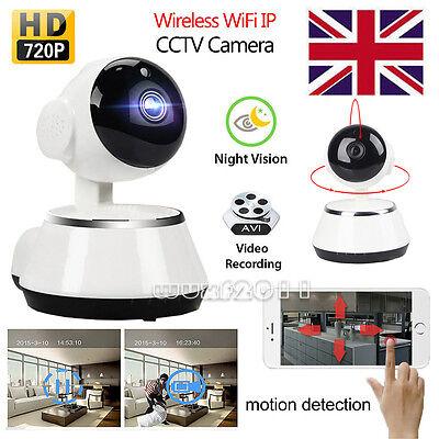 HD 720P Wireless WiFi IP Camera Home Security Network CCTV P2P IR Night Vision