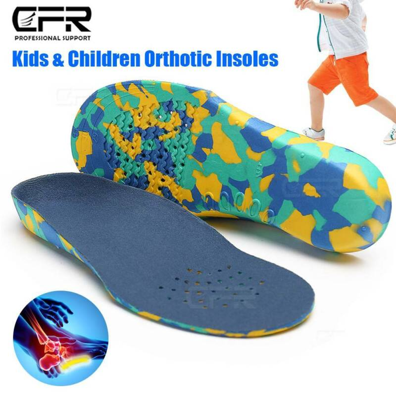 Children Orthotic Shoe Insoles Arch Support Plantar Fasciiti