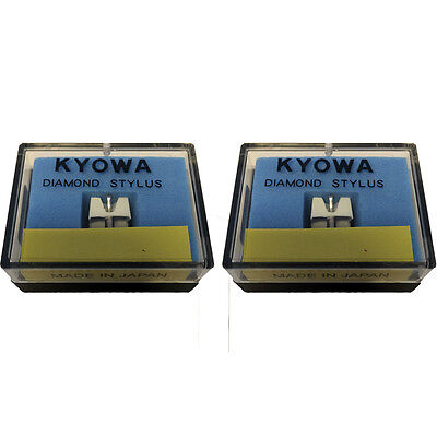 Pair (2x) KYOWA Replacement Stylus/Styli for Stanton 500/505 free 1st class DEL for sale  Shipping to Ireland