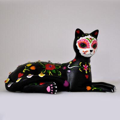 Purr-Cious Bliss Sugar Skull Cat Figurine by Blake Jensen NEW (Sugar Skull Cat)