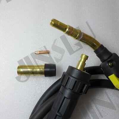 3m 10feet 300a 0.8-1.2 Mig Gun Torch Euro Connector Bernard Style
