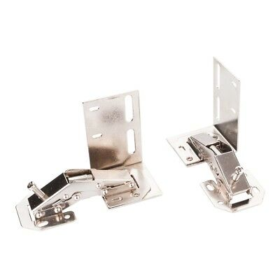 SET OF 2 KITCHEN CABINET SINK FRONT TIP TILT OUT TRAY STEEL HINGES TIPOUT-HINGE (Kitchen Tip Out Tray)