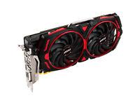 MSI Radeon RX580 Video Card 8GB GPU Red Devil