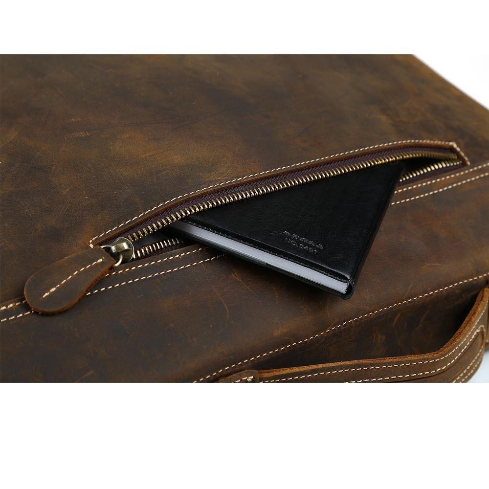 herren ledertasche umh ngetasche pc 14 39 39 laptop. Black Bedroom Furniture Sets. Home Design Ideas