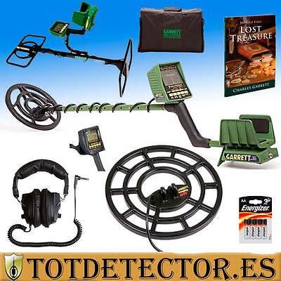 Detector de Metales Garrett GTI 2500 + Antenas de profundidad + Accesorios