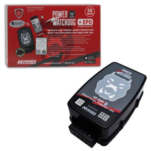 Hughes Power Watchdog 50 Amp Bluetooth Smart Surge Protector w/ EPO -  Hardwired