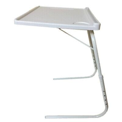 Mesa Plegable Auxiliar con sujeción para Tablet Vaso y bolígrafo Altura 3...