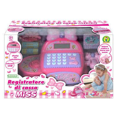 Registratore di cassa Miss gioco per bambina Mazzeo Giocattoli con accessori
