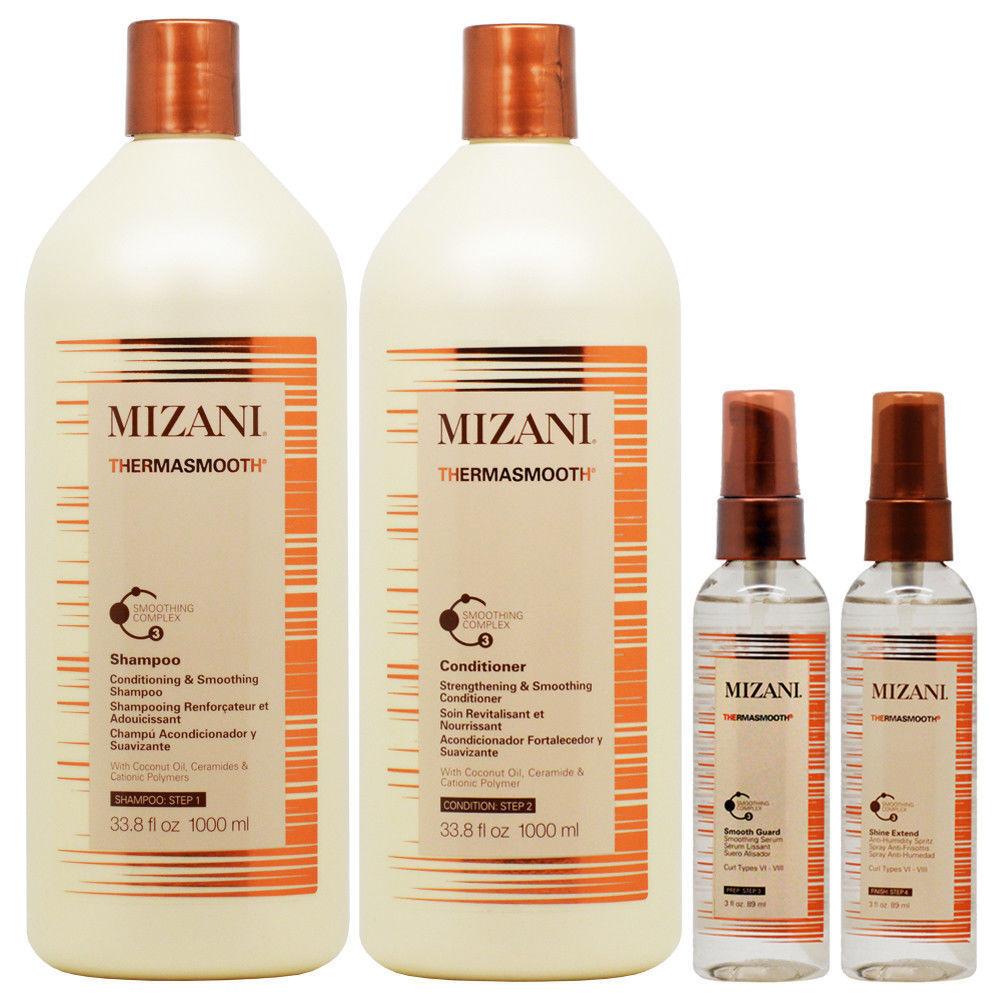 Mizani Thermasmooth System Full Set 4pcs Hair Care & Styling