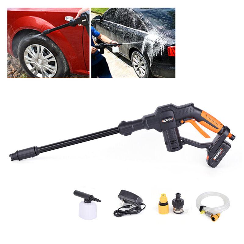 12V Car Pressure Washer Portable Pressure Cleaner Auto Washing Gun Wash Pump US