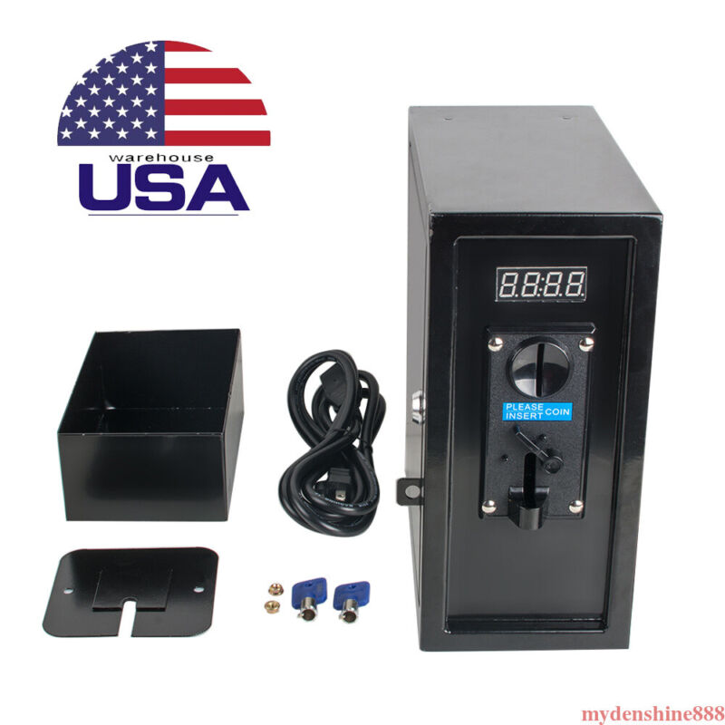 Coin Selector Selector Operated Timer Control Box Power Supply Electronic Device