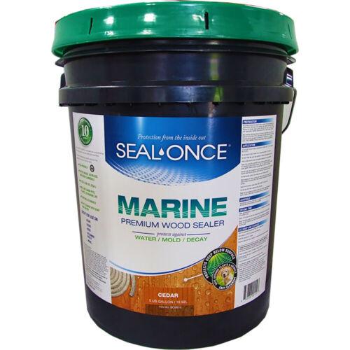 Seal Once Marine Prem CEDAR 5 gal