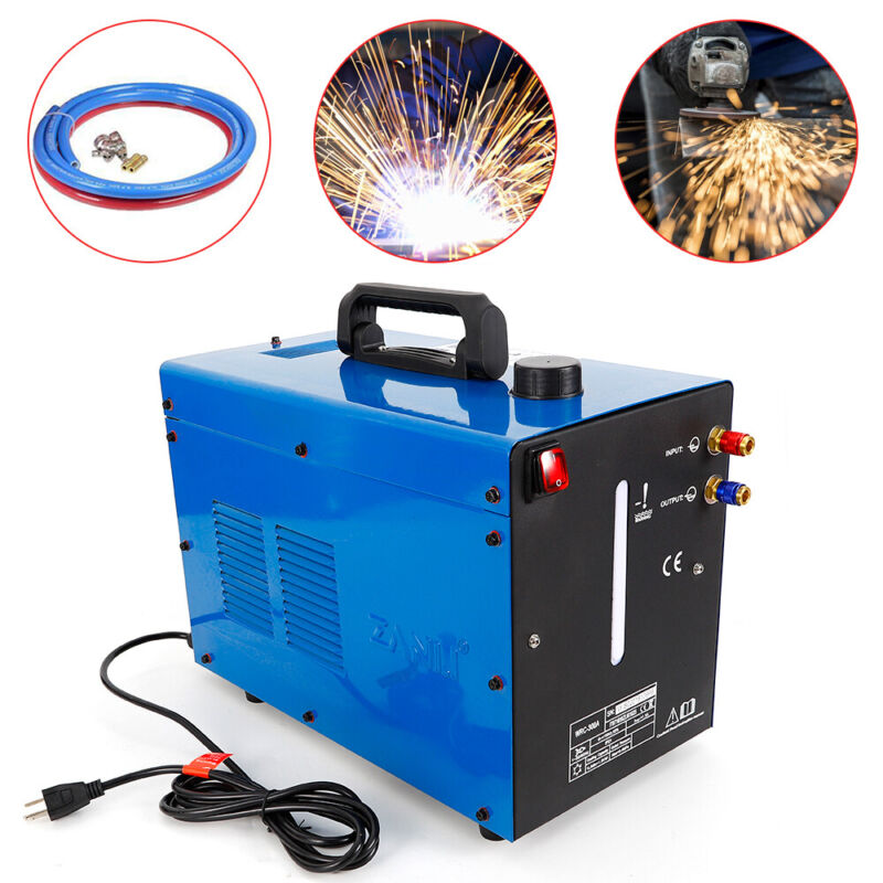 Industrial Water Chiller 10L TIG Welder Torch Water Cooling System Cooler 1.5KW
