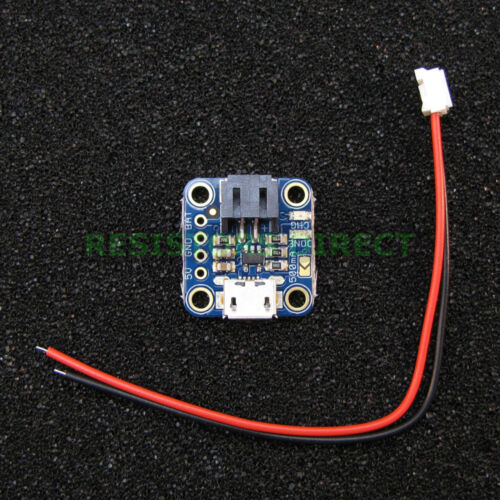 Adafruit Micro Lipo Micro-B USB Battery Charger Board Lithium Ion LiIon US G30