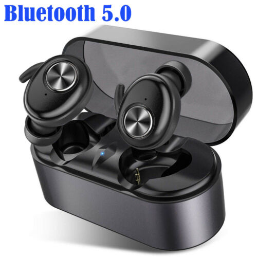 Bluetooth 5.0 Earphone Mini Wireless Earbuds Stereo In-Ear TWS Headset Earpiece