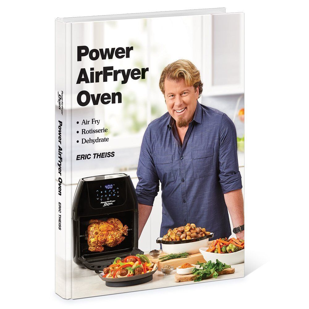 Power AirFryer Oven Cookbook 124 Easy Recipes Full Page Colo
