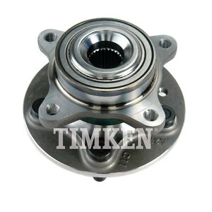 Wheel Bearing and Hub Assembly Front Timken HA500601