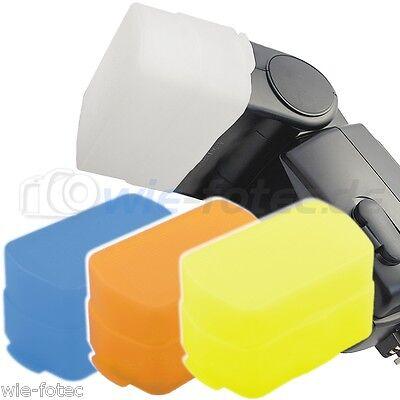 4x wambo Diffusoren Diffusor Softbox passend für Canon Blitz 430EX I & II (Blitz-diffusor Canon 430ex Ii)