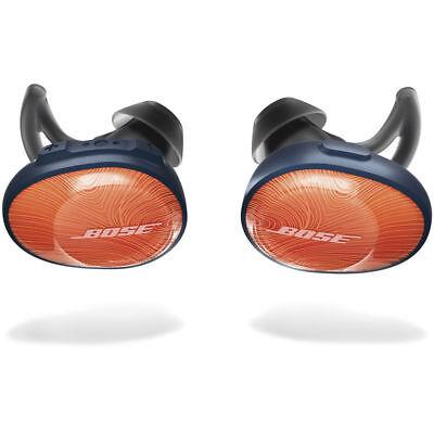 Bose SoundSport Free Bluetooth Wireless In-Ear Headphones Earbuds - Orange