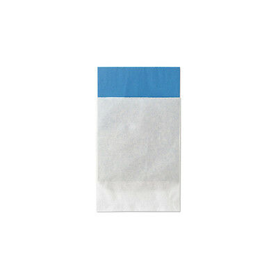 100 Lightweight White Paper Bags, 5x7