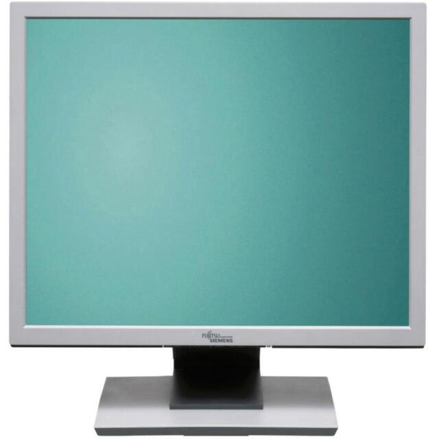 """Fujitsu TFT FSC B17-5 43 cm (17"""") 5:4 LCD TFT Monitor DVI VGA Lautsprecher"""