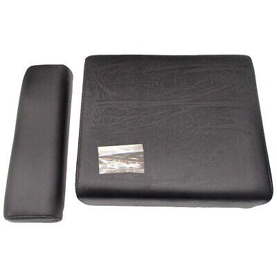 Black Backrest And Seat Cushion Set Fits John Deere M Mt 40 320 330 420 430 435
