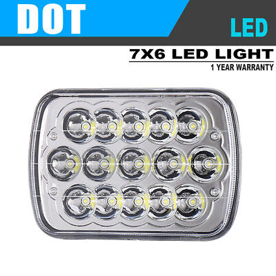LED 5X7 Inch LED Headlight Replacement 6052 m for 1984-1996 Chevy Corvette C2 C3
