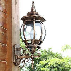 Aluminum Outdoor Wall Lights Garden Path Coach Wall Hanging Lights Flood Lamp