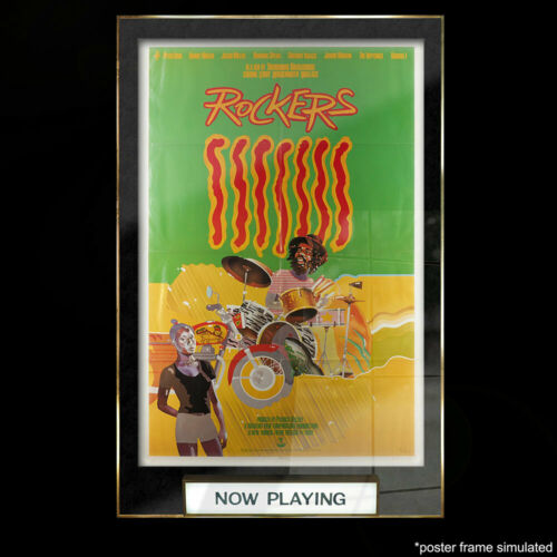 Rockers 1980 Original Release Poster - Peter Tosh Reggae P00056