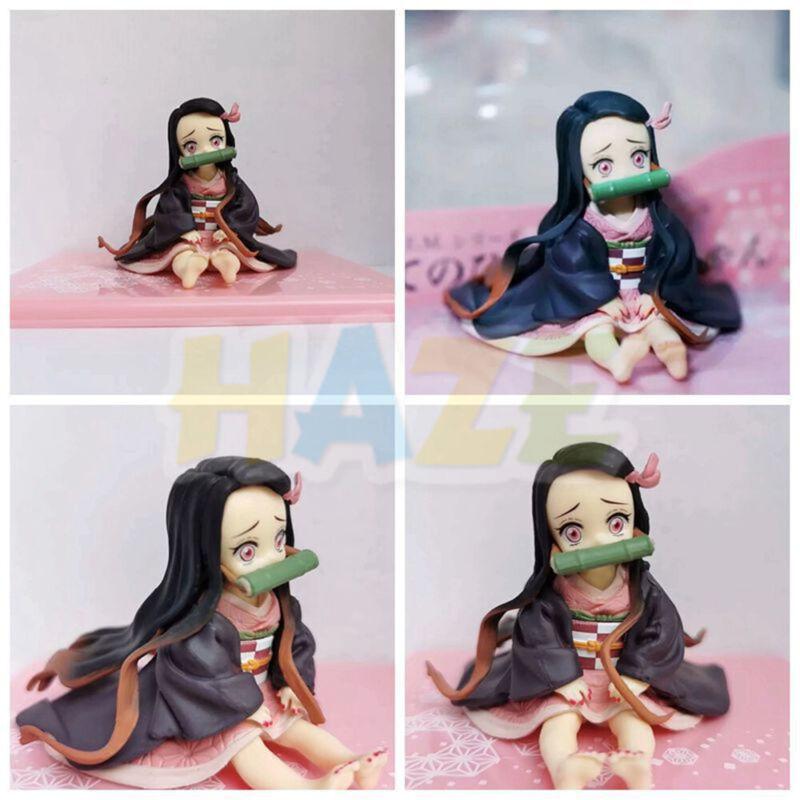 Anime Demon Slayer: Kimetsu no Yaiba Q Ver. Kamado Nezuko PVC Action Figure Toys