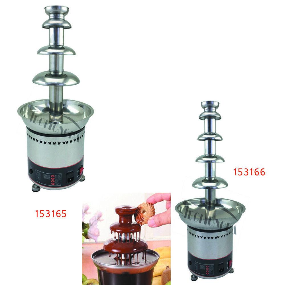 4Tier /5Tier 110V Electrics Best Chocolate Fondue Fountain H