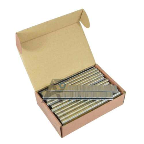 "18 Gauge Narrow Crown 1/4"" X 5/8"" Leg L Series 90 Series Staples 5,000/Bx"