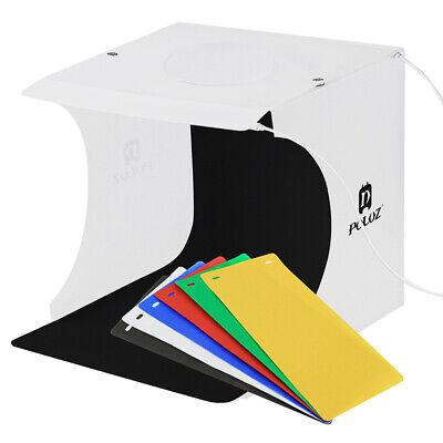 2 LED Light Room Photo Studio Photography Lighting Tent Kit 6 Backdrop Cube Box