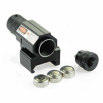 Tactical Red Laser Beam Dot Sight Scope for Gun Rifle Pistol Picatinny Mount WP