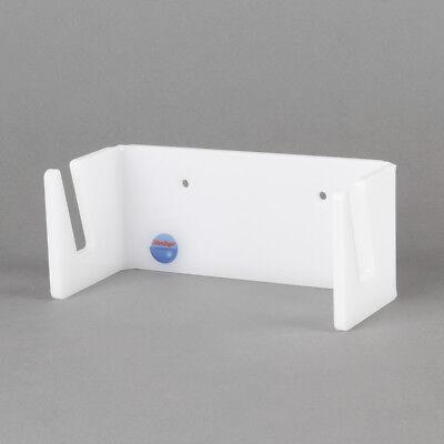 Longboard-Halter aus Acrylglas, Scateboard-Halterung, weiß satiniert