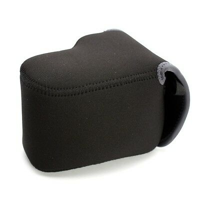Canon Nikon Sony NEOPRENE CAMERA Protector slr Body/55mm Lens Case Cover Medium - Medium Slr Lens Case