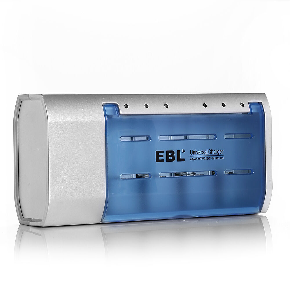 ebl battery charger for aa aaa 9v ni mh ni cd c d size rechargeable batteries ebay. Black Bedroom Furniture Sets. Home Design Ideas