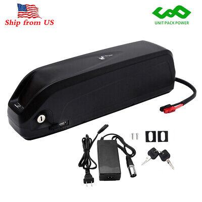 US Stock Ebike Li-ion Battery 48V 14.5Ah Samsung Cell 30A BMS USB for 750W 1000W