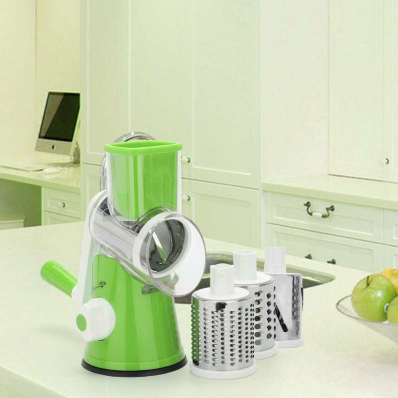 Multifunctional Rotary Mandoline Vegetable Fruit Cutter Slic