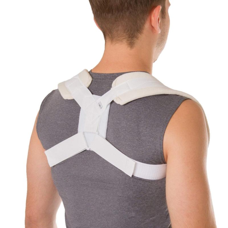 BraceAbility Figure 8 Clavicle Brace & Posture Corrector Bro
