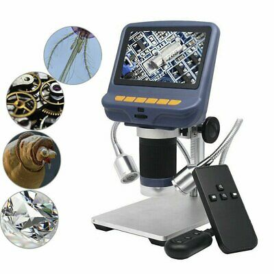 Yaeccc 4.3inch 1080p Lcd Digital Usb Microscope With 10x-220x Magnification Zoom