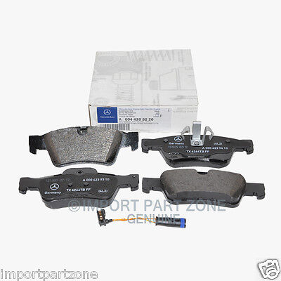 Mercedes Rear Brake Pads Pad Set Genuine OE 0045220 + Sensor 16410 VIN#REQUIRED