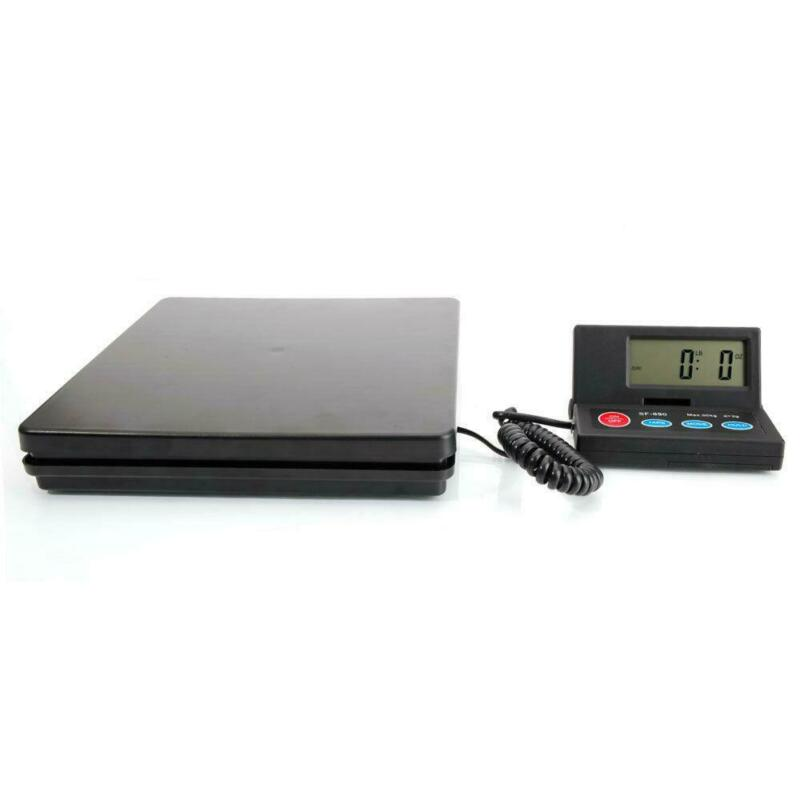 Weigh Digital Shipping Postal Scale Heavy Duty Steel 110lbs LCD Scales