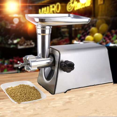 8mm Pellet Feed Machine Household Electric Pet Food Animal Feed  220V Stainless