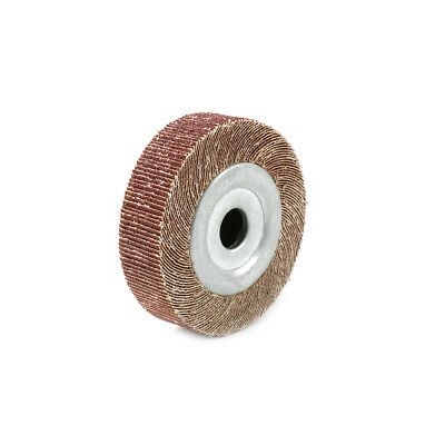 4 Inch 80 Abrasive Flap Sanding Wheels For Metal Grinding Polishing Wheel