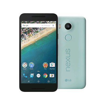 Unlocked LG Nexus 5X H790 32GB BLUE (ICE) 4G LTE Android Smartphone US Model